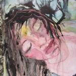 Geen titel (50x70) Inkt en aquarel op papier